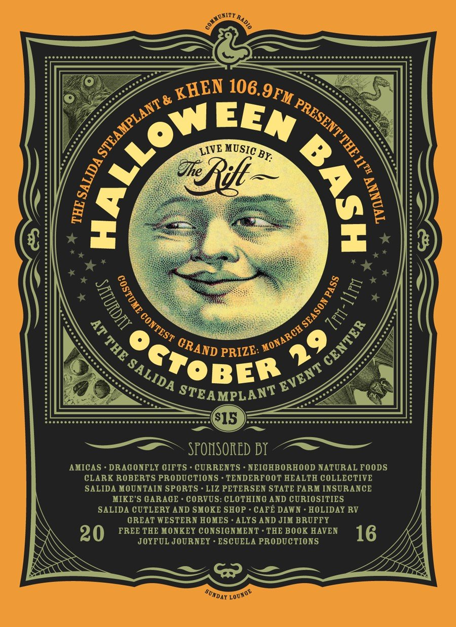 KHEN Halloween Party - Salida Steamplant