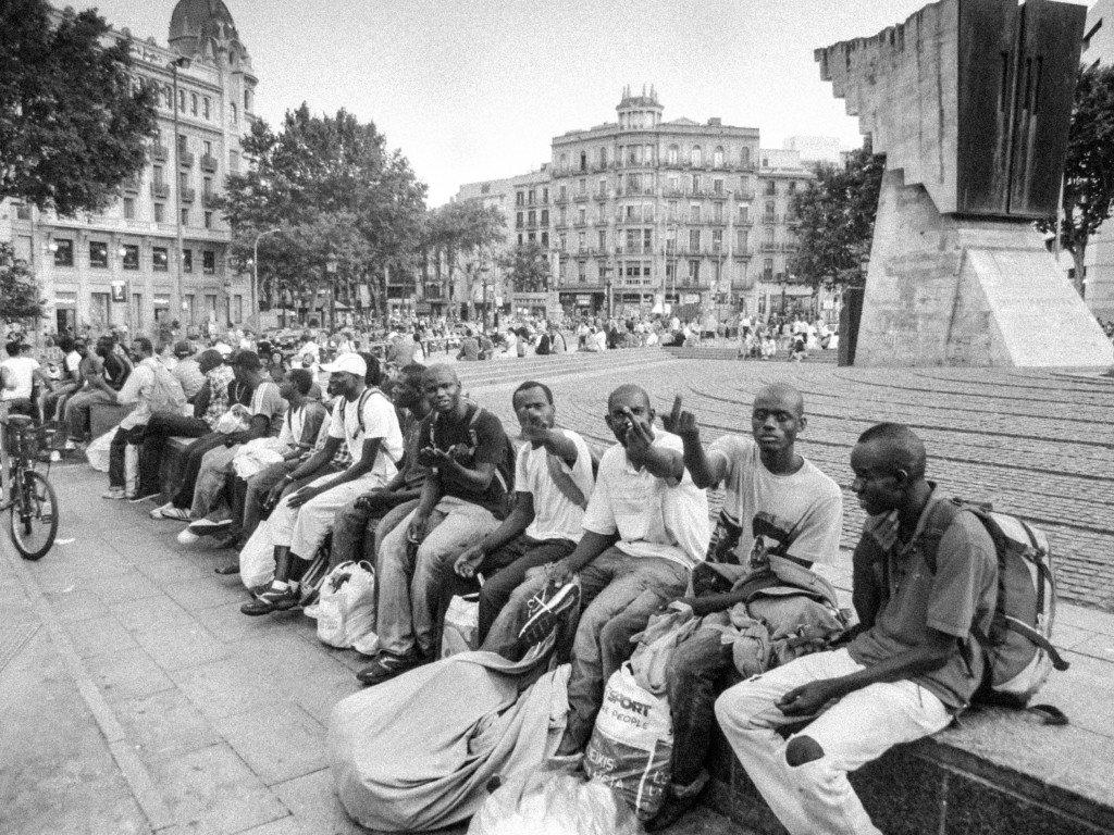 African Guys, Barcelona